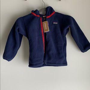 3T Patagonia Baby Synchilla Fleece Cardigan